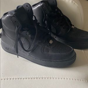 High top airforce ones